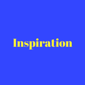 Inspiration Word Block